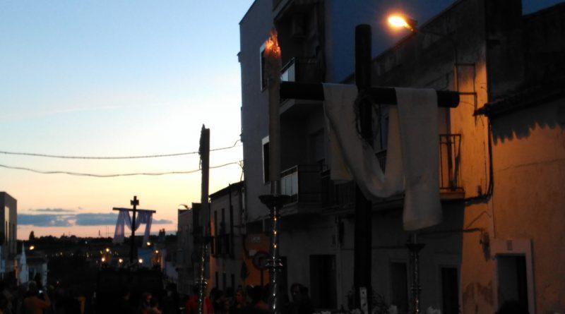 Cruz de Mayo en la Hermandad del Calvario