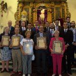 La Hermandad del Calvario celebro la pasada semana los actos conmemorativos del 350 aniversario de la hermandad y el 125 aniversario de la Cofradía de la Santísima Virgen de los Dolores. (170)