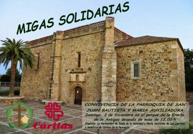 Migas Solidarias Hermandad Jesús de la Humildad y Mª Stma. de las Lágrimas