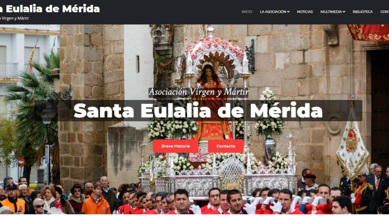 Nueva web de la Asociación de la Virgen y Mártir Santa Eulalia