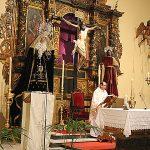 La Hermandad del Calvario celebro la pasada semana los actos conmemorativos del 350 aniversario de la hermandad y el 125 aniversario de la Cofradía de la Santísima Virgen de los Dolores. (11)